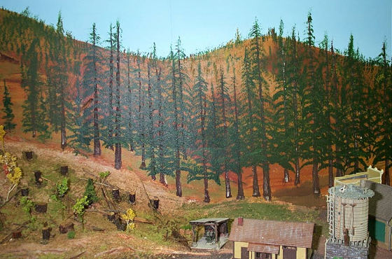 Blog posts whitesmith - Model railroad backdrops ...