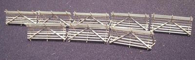 Snow Fence Kit for model railroads